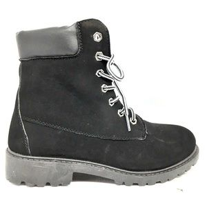 Charlotte Russe black boots 6m 🎉hp